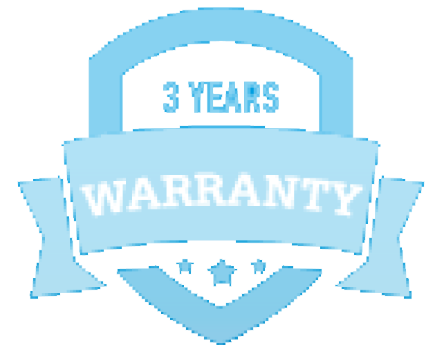 3 year warranty logo optimised